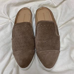 Tan BCBGeneration Slip-on Sneaker Flats - Size 8